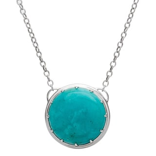 Yours by Loren Sterling Silver Amazonite Necklace