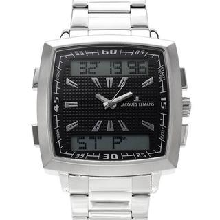 Men's 1-1491C Silver Stainless Steel Chronograph Watch