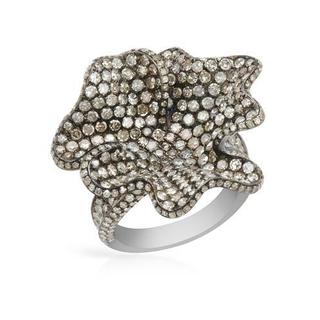Ring with 4.4ct TW Diamonds in .925 Sterling Silver