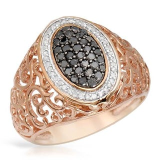 Ring with 0.55ct TW Diamonds in Rose Gold