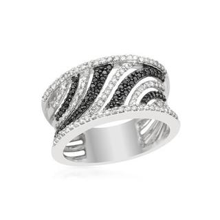 Ring with 0.9ct TW Diamonds of 14K White Gold