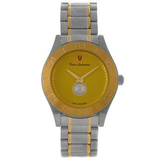 Men's en045l311 Two-tone Gold-plated Stainless Steel Watch