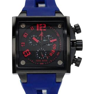 Men's AK7115-MIP Blue Rubber Chronograph Watch