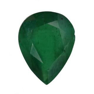 Genuine Brazilian Emerald 2.2ct TW Pear-cut 10.5 x 8mm