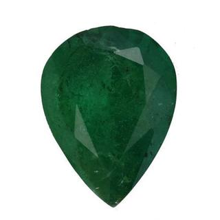 Genuine Brazilian Emerald Minimum 2 1/2ct TW Pear-cut 11 x 8.5mm