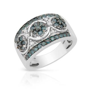 Ring with 1.01ct TW Diamonds in 14K White Gold