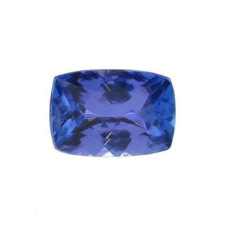Genuine Tanzanite 2.03ct TW Cushion-shape 9.1 x 6.4mm