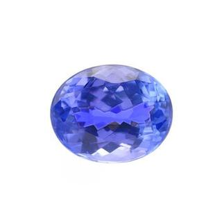 Genuine Tanzanite 3.14ct TW Oval-shape 9.7 x 7.9mm