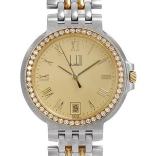 Pre-owned Dunhill Women's Two-tone 18k Gold-plated Stainless Steel Watch 13771147