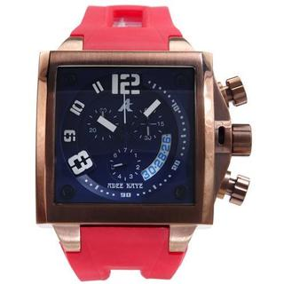 Men's AK7115-MIP Pink Rubber Chronograph Watch
