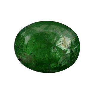 Genuine Brazilian Emerald 5.58ct TW Oval-cut 14 x 11.5mm