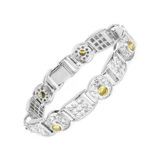 Bracelet with Cubic Zirconia 925 Sterling Silver