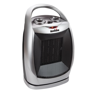 Duraflame DFH-DH-15-TO Gray Portable Oscillating Electric Ceramic Desktop Heater