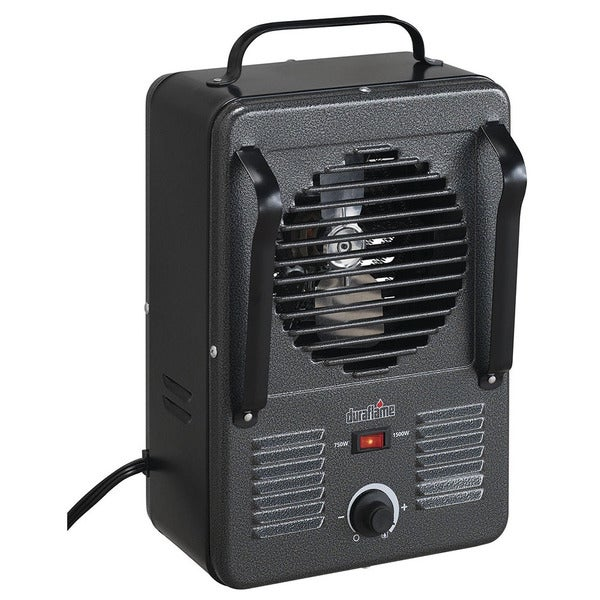 Duraflame DFH-UH-1-T Grey Portable Electric Compact Durable Utility Heater