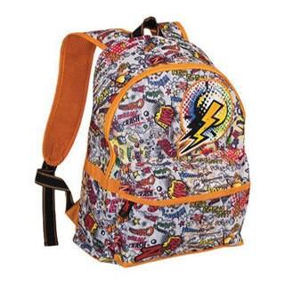Men's Skechers ZEVO3 Comic Smash Backpack Orange