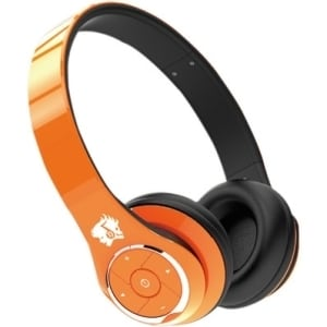 life n soul bluetooth headphones orange overstock shopping the best prices on wireless. Black Bedroom Furniture Sets. Home Design Ideas