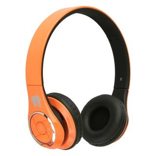 Life n soul Bluetooth Headphones Orange