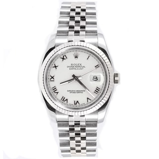 Pre-Owned Rolex Men's Datejust Stainless Steel Jubilee Automatic Watch