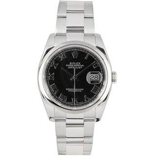 Pre-Owned Rolex Men's Datejust Stainless Steel Oyster Automatic Watch