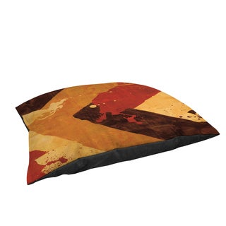 Thumbprintz Splatter No I Red Large Rectangle Pet Bed