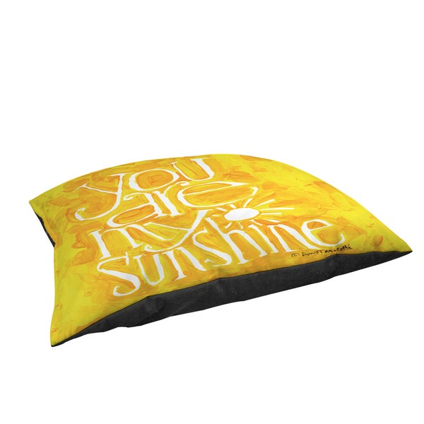 Thumbprintz You are my Sunshine Large Rectangle Pet Bed