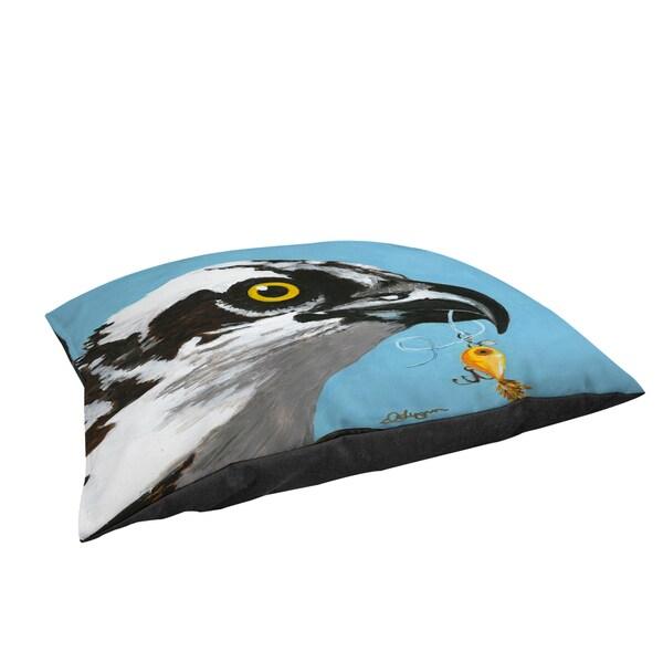 Thumbprintz You Silly Bird Senior Large Rectangle Pet Bed