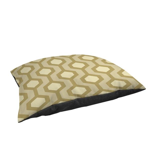 Thumbprintz Carpet Cream Large Rectangle Pet Bed