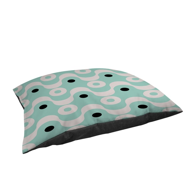Thumbprintz Fifties Patterns II Large Rectangle Pet Bed