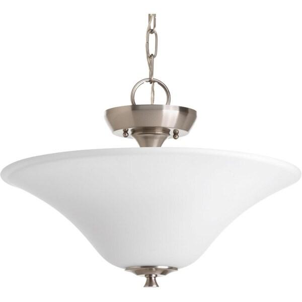 Progress Lighting Silvertone 2-light Ctc Convertible