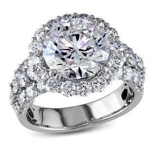Miadora 18k White Gold 6 1/3ct TDW Certified Diamond Ring (F, SI2) (IGI)