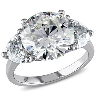 Miadora Signature Collection 18k White Gold 6 4/5ct TDW Certified Diamond Ring (N, VS1) (GIA)