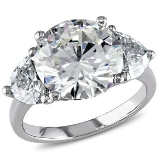 Miadora 18k White Gold 6 4/5ct TDW Certified Diamond Ring (N, VS1) (GIA)