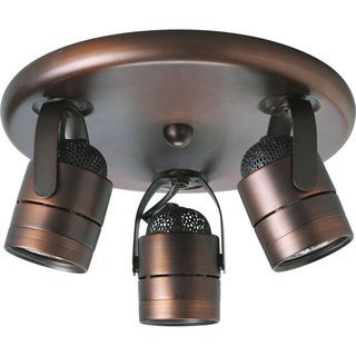 Progress Lighting Bronze 3-light Directional Light Fixture