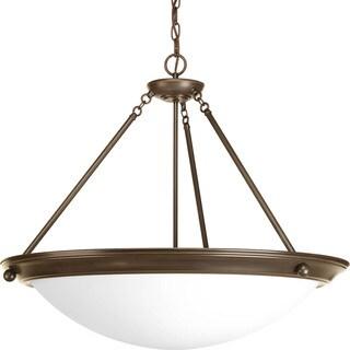 Progress Lighting Bronze 4-light Pendant Light Fixture