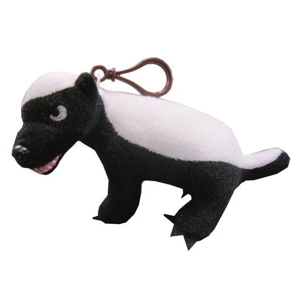 License 2 Play Honey Badger Clip-on Plush