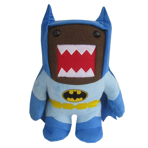 License 2 Play Domo Blue Batman 16-inch Plush