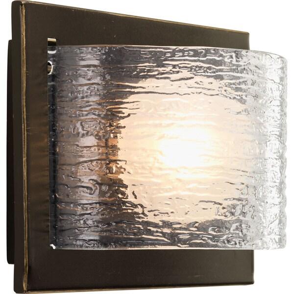 Progress Lighting Bronze Reign Collection 1-light Antique Bronze Bath Light With Bulb