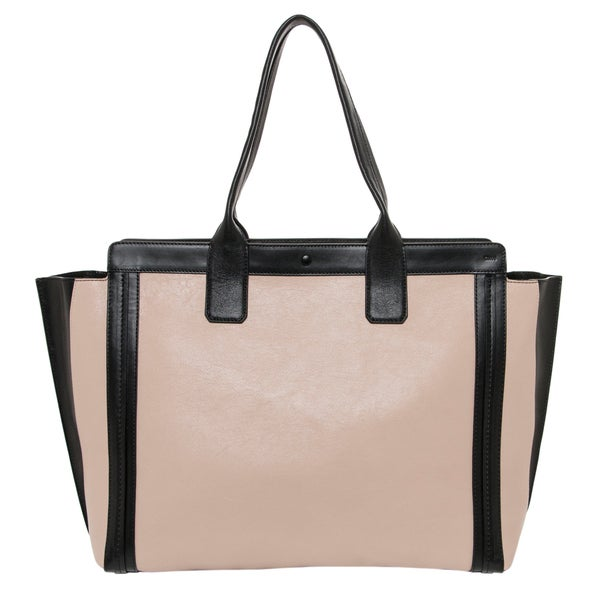 chloe leather alison tote