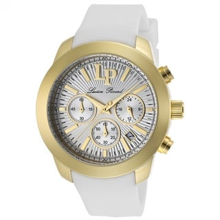 Lucien Piccard Women's Belle LP-12938-YG-02 White Silicone Watch