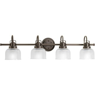 Progress Lighting Bronze Archie Collection 4-light Venetian Bronze Bath Light