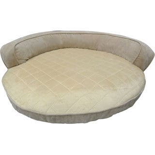 Paws & Claws Larsen Medium Round Bolster Pet Bed
