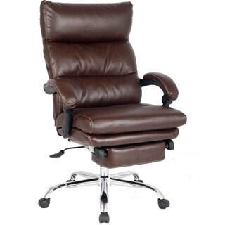 VIVA OFFICE High Back Ergonomic Bonded Leather Swivel Recliner Office Chair