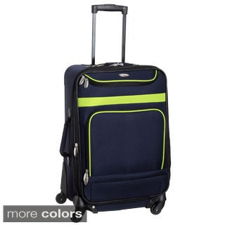 Travel Gear Spectrum II 21-inch Expandable Carry On Spinner Suitcase