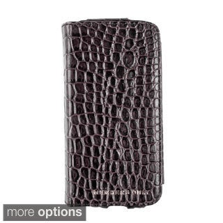 iPhone 5 Genuine Leather Book-style Phone Case