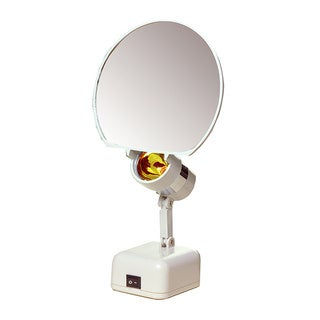 5-inch Round 5X Illuminated Vanity Mirror