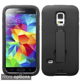 BasAcc Rugged Shock Proof Stand PC Silicone Hybrid Case for Samsung S5 Mini