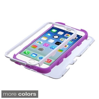 BasAcc Colorful Shock Proof PC Silicone Hybrid Case for Apple iPhone 6 4.7-inch