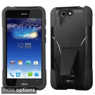 BasAcc Rugged Shock Proof Stand PC Silicone Hybrid Case for Asus PadFone X