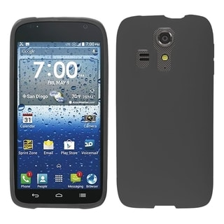 BasAcc Black Dust Dirt Proof TPU Rubber Case for Kyocera Hydro Icon 6730