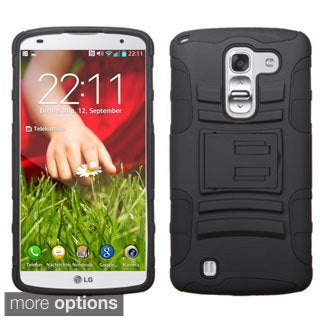 BasAcc Rugged Shock Proof Stand PC Silicone Hybrid Case for LG G Pro 2